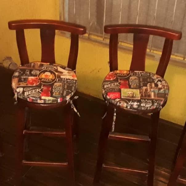 Confecção de Almofadas para Cadeiras